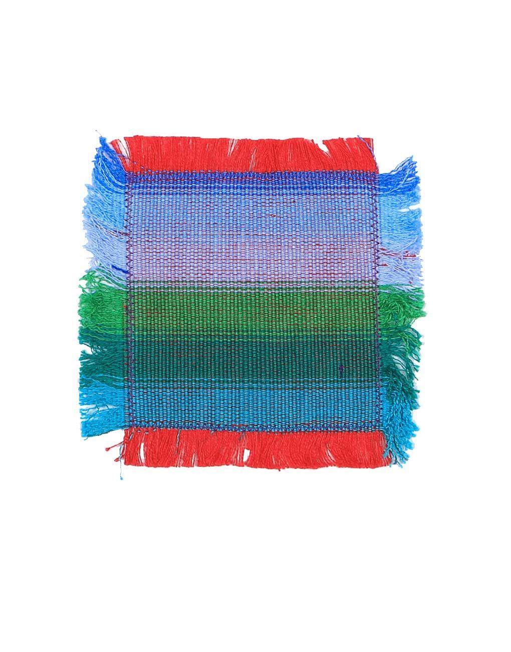 Coaster - Blue Ombre
