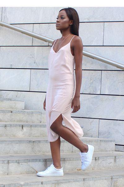 How To Casually Wear A Slinky Slip Dress