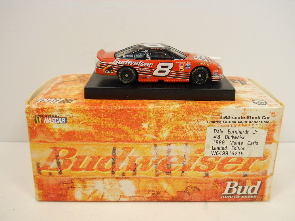Dale Earnhardt Jr Die-Cast 1:64 Scale 1999 Budweiser Monte Carlo