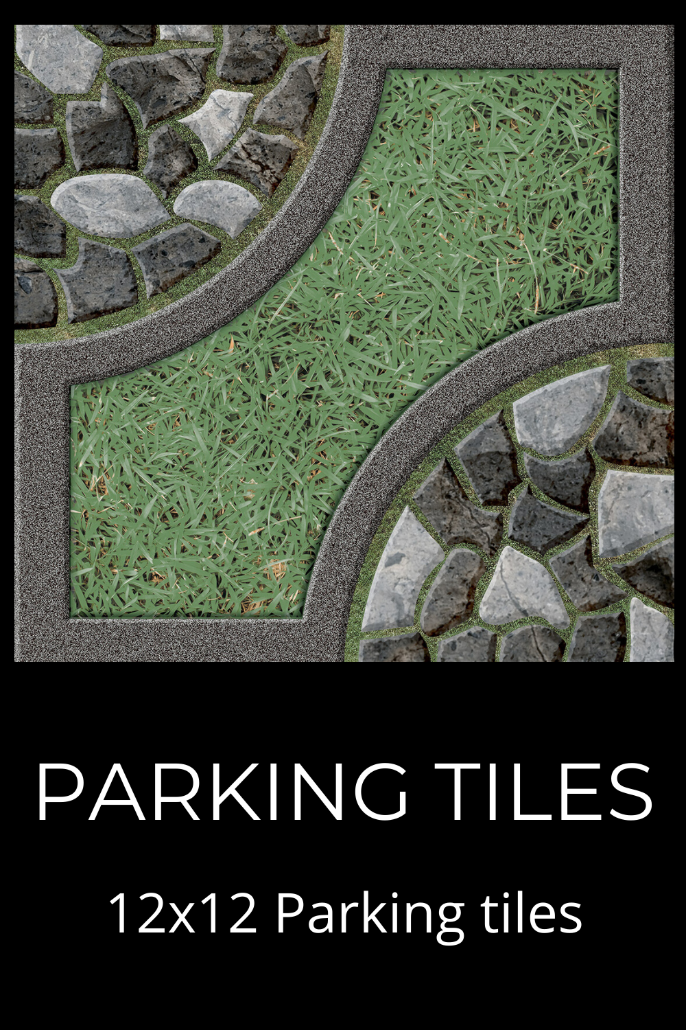 12x12 Digital Parking Tiles In 2020 Garden Tiles Vitrified Tiles Ceramic Wall Tiles