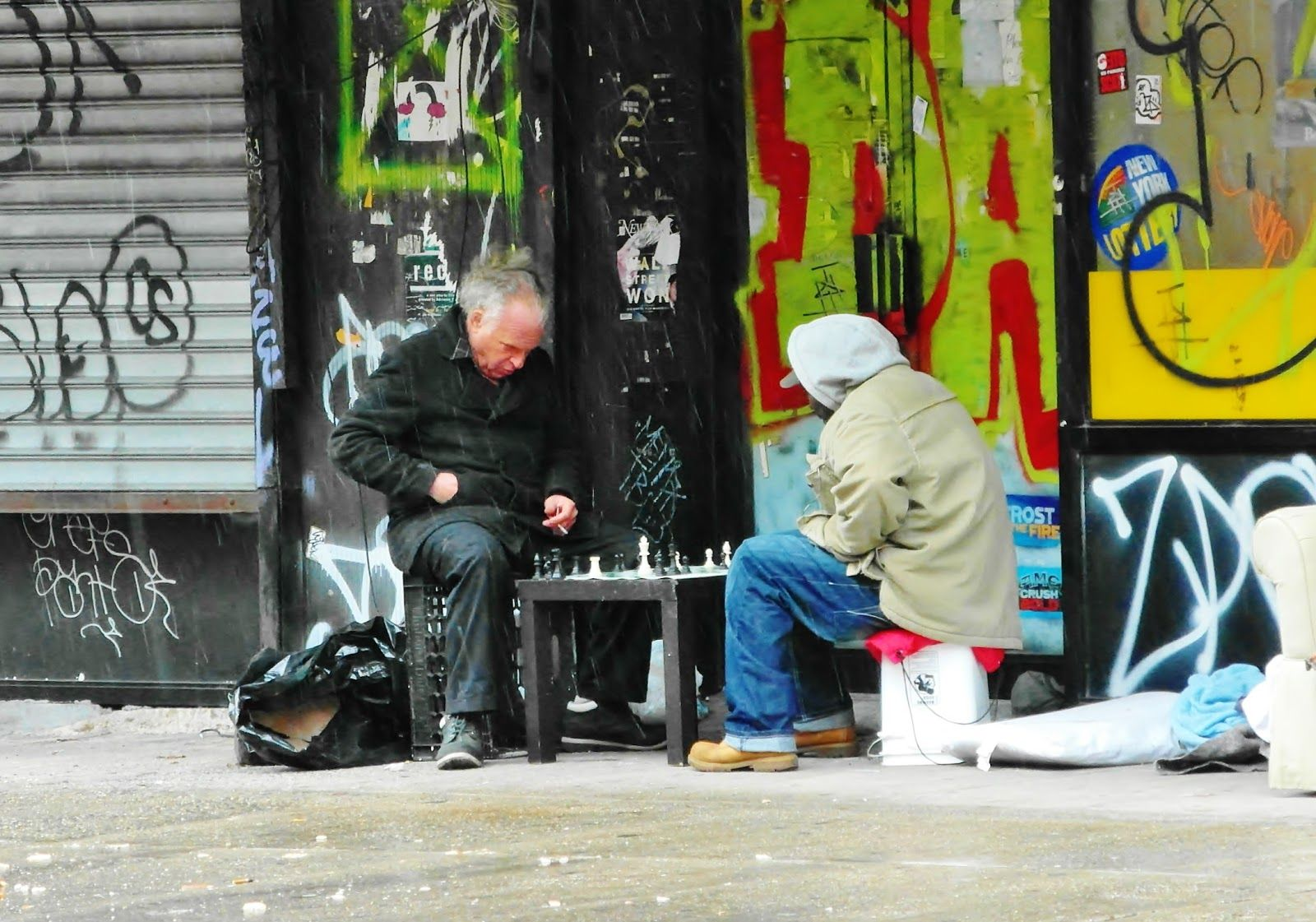 EV Grieve: A game of chess at 100 Avenue A