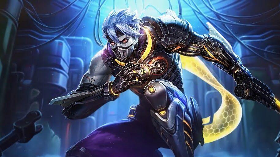 Mobile Legends New Skin Hayabusa Biological Weapon Skin Review Desain Karakter Game Gambar Serigala Desain Karakter