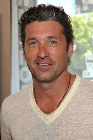 Celebrities With Gray Hair Patrick Dempsey Natural Gray Gray