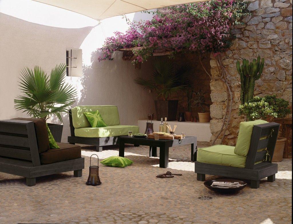 aménagement idée déco salon de jardin | Patios and Gardens