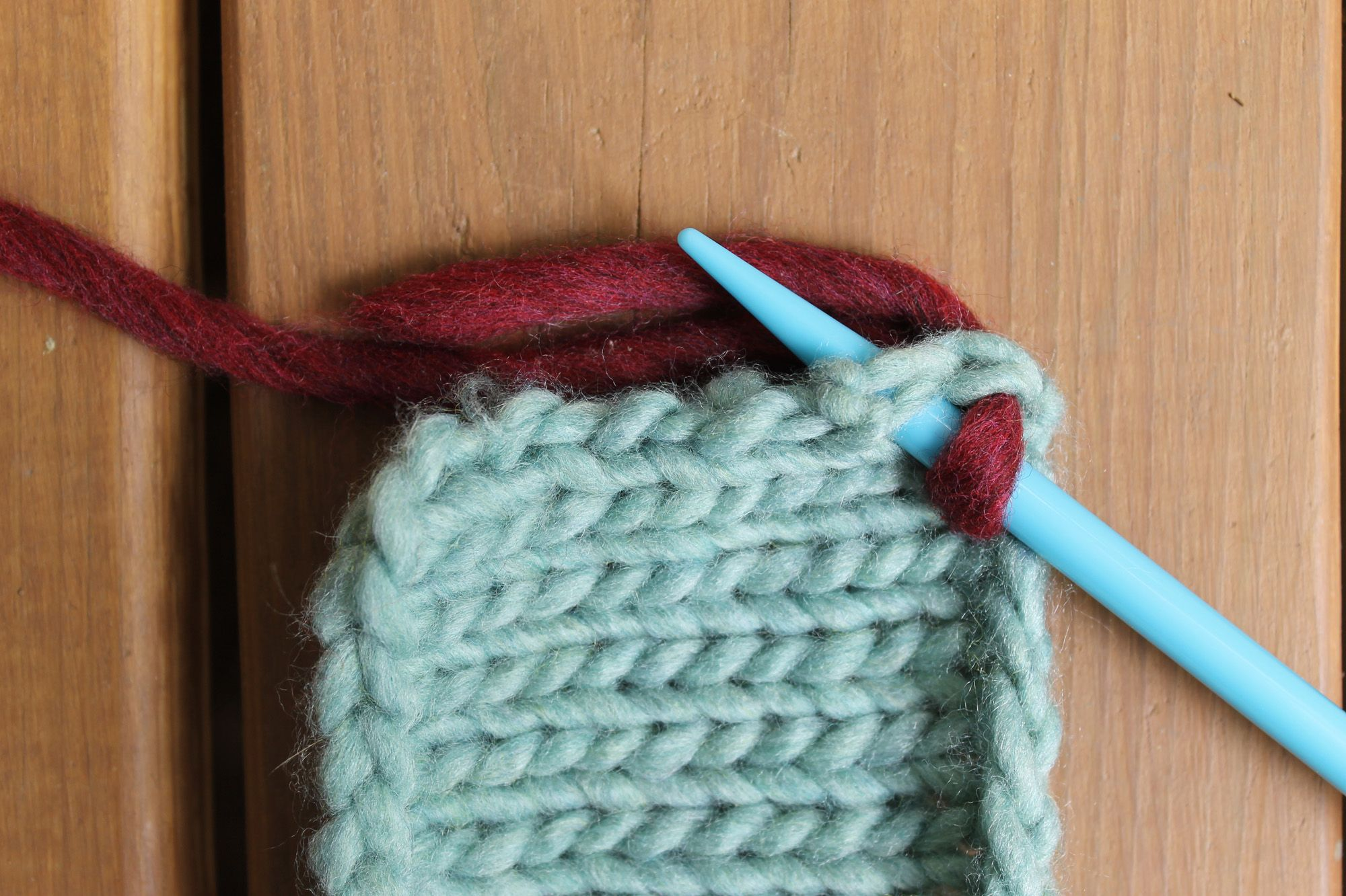 If You Can Wrap Yarn Around Your Knitting Needle, You Can