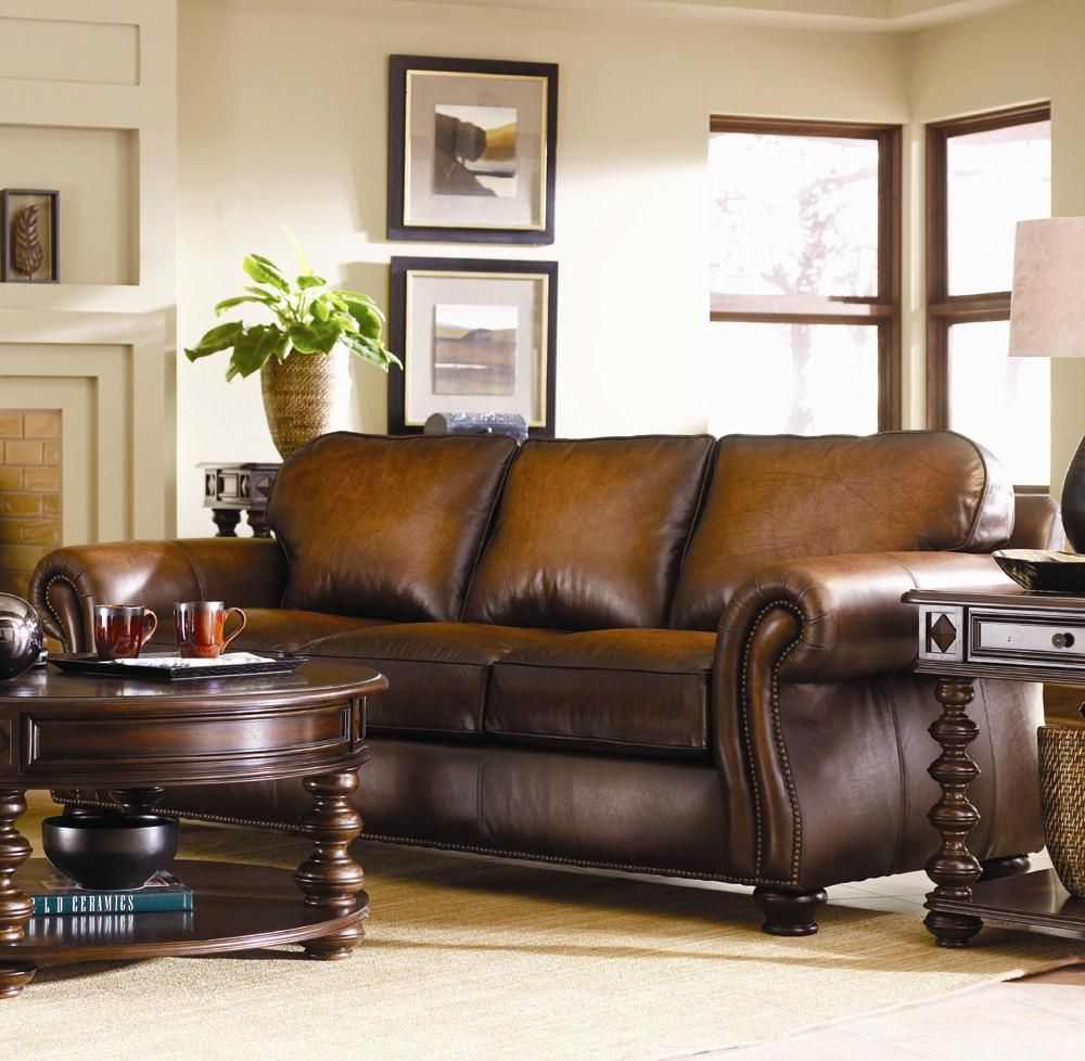 Bernhardt Vincent Leather Sleeper Sofa Sprintz Furniture Nashville Franklin Bwood And Greater Tennessee