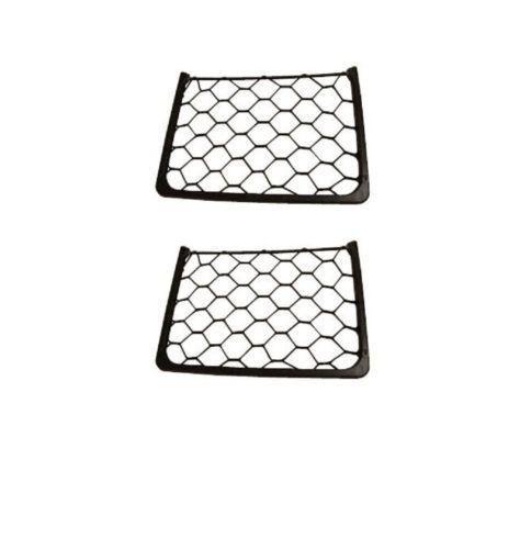 2 x Elasticated Storage Magazine Net Rack For Caravan