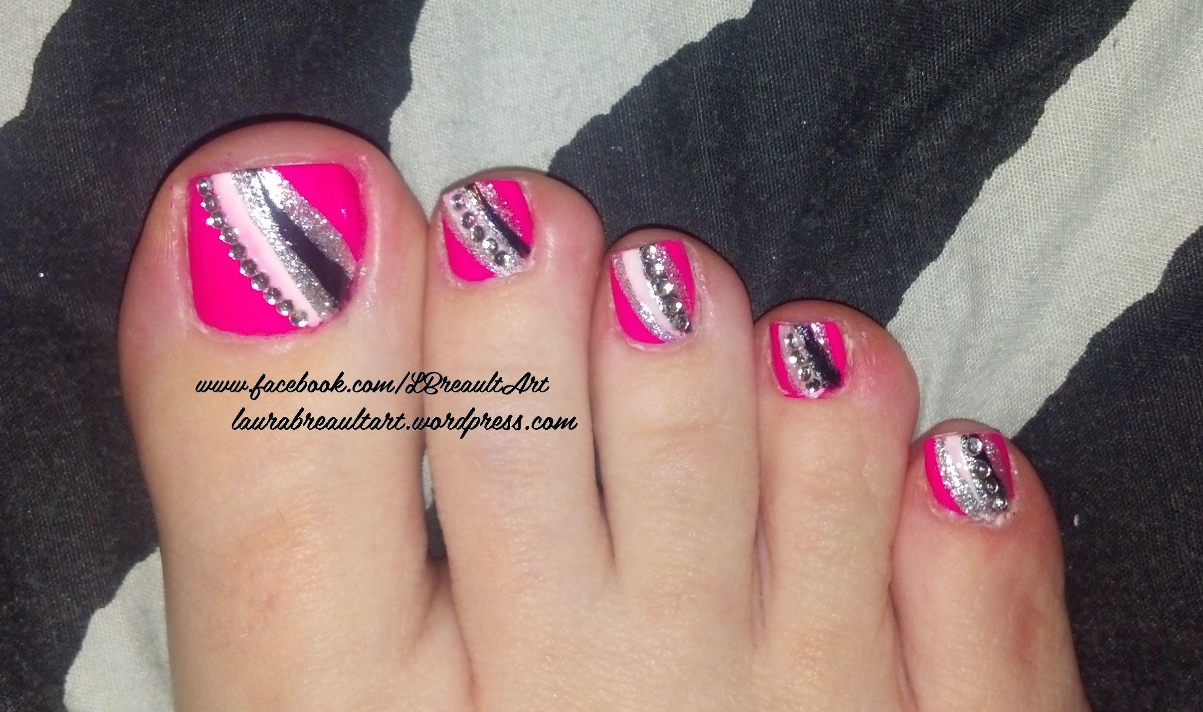 Valentine\'s Inspired Nail Art Set No.3 | Toe nail art, Nail art set ...