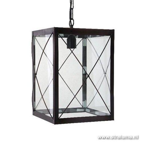 landelijke lantaarn corridor zwart bruin hal