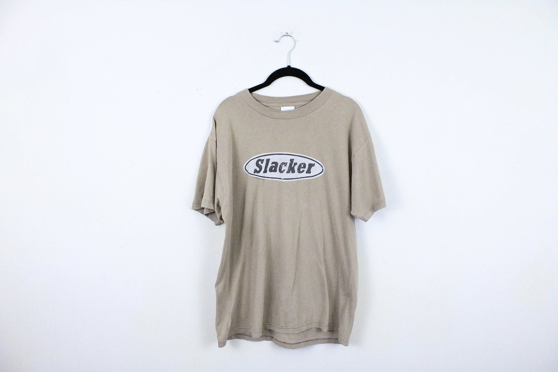 Vintage 90s Novelty Cool People Slacker T Shirt Cartoon