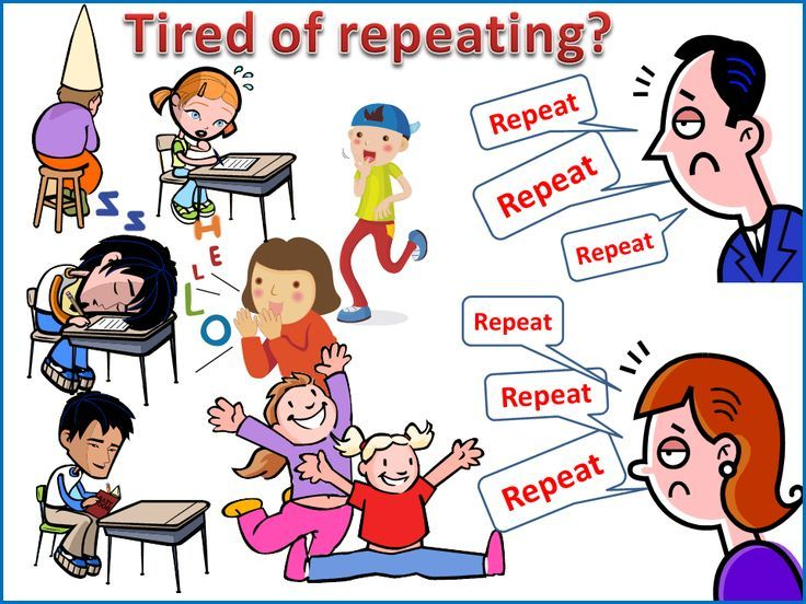 Tired Of Repeating Instructions In The Classroom To Students Who