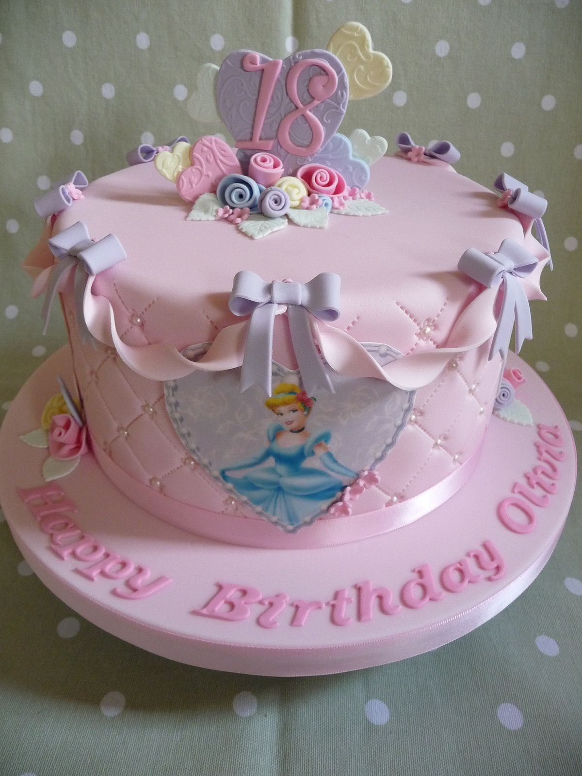 Disney Princess Cake Disney Princess Birthday Cakes 18th