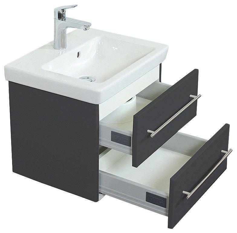 VILLEROY \ BOCH Waschtisch »Villeroy und Boch Subway 20«, Breite - villeroy und boch badezimmermöbel