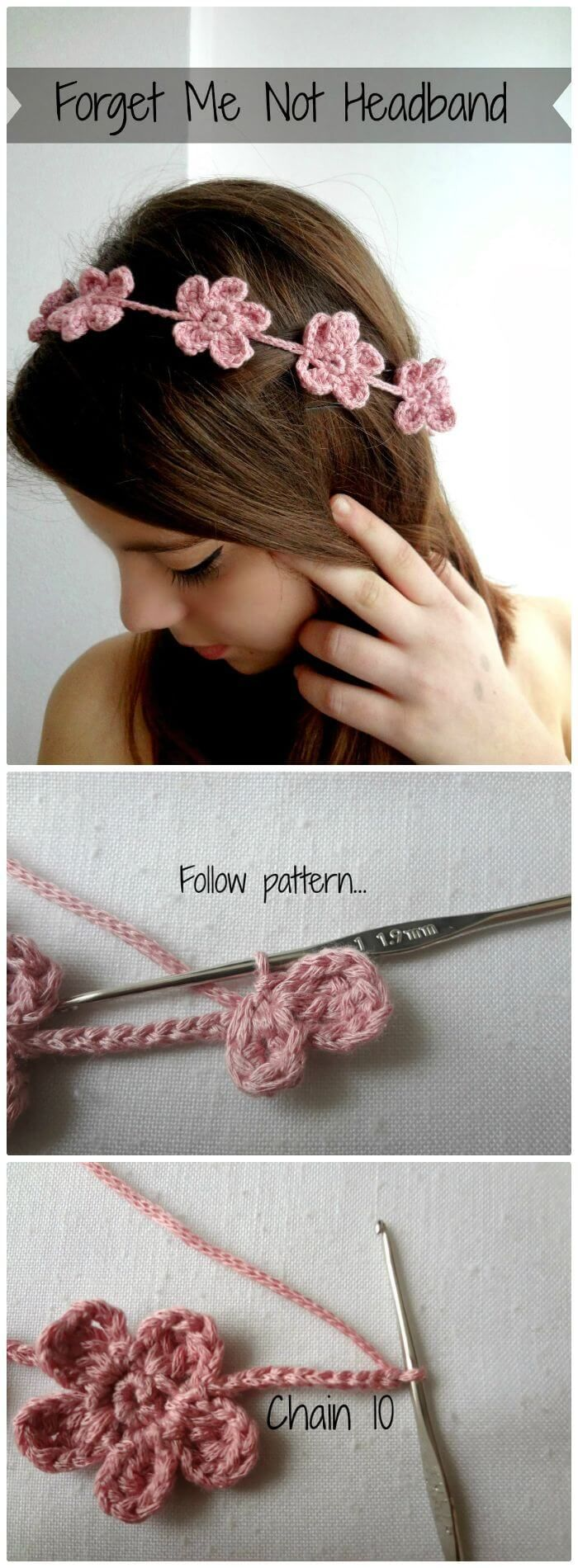 46 Free Crochet Headband Patterns to Try This Weekend | diadema d ...
