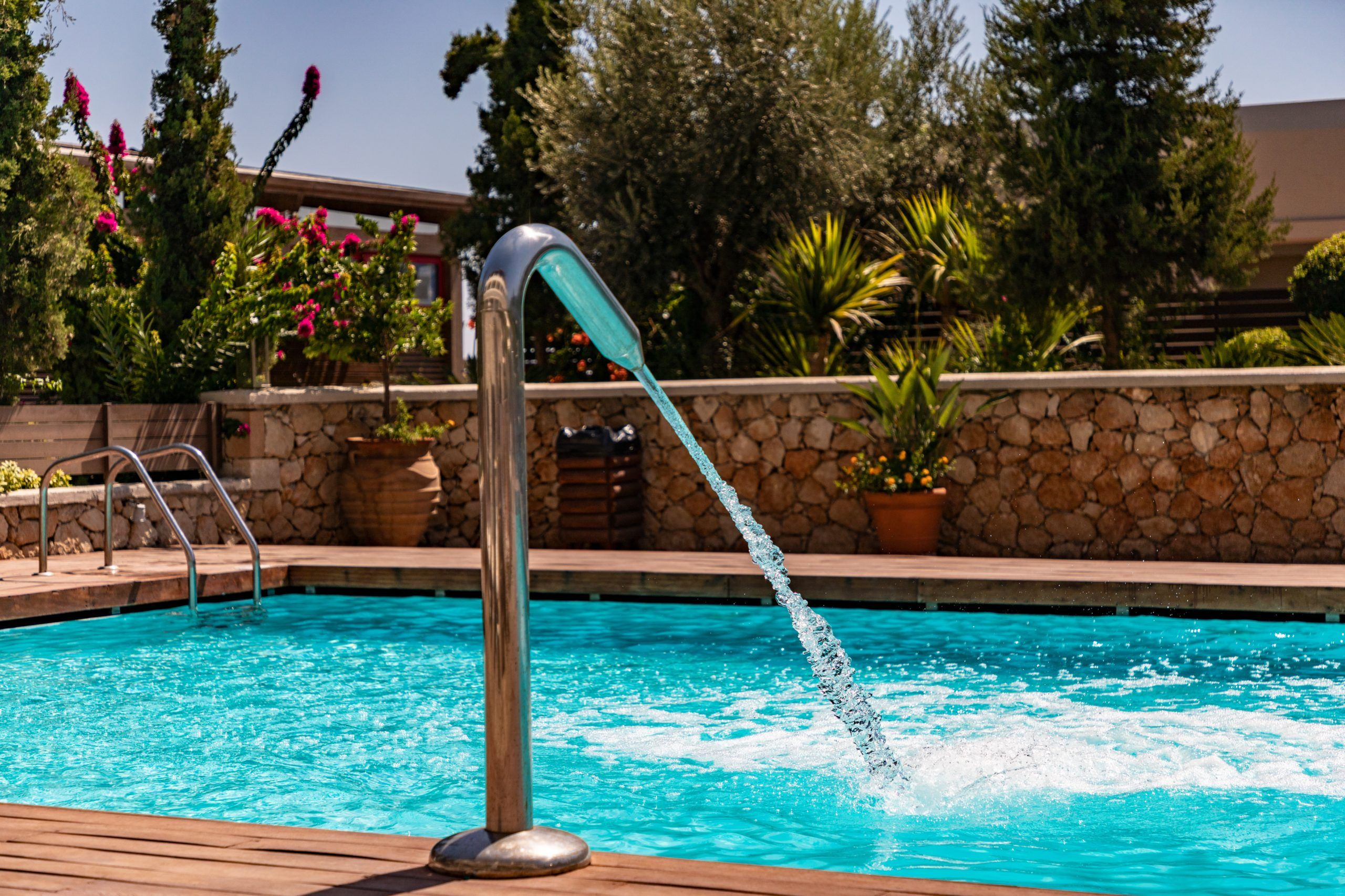 Landscaping For Your Pool Swimming Pool Installation Swimming Pools Pool Installation