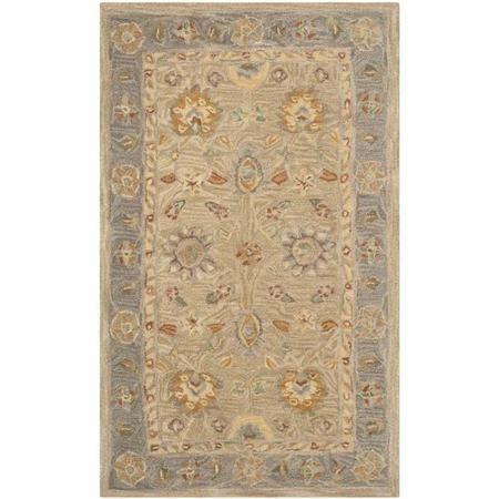 Safavieh Anatolia Scarlett Hand Tufted Wool Area Rug - Walmart.com