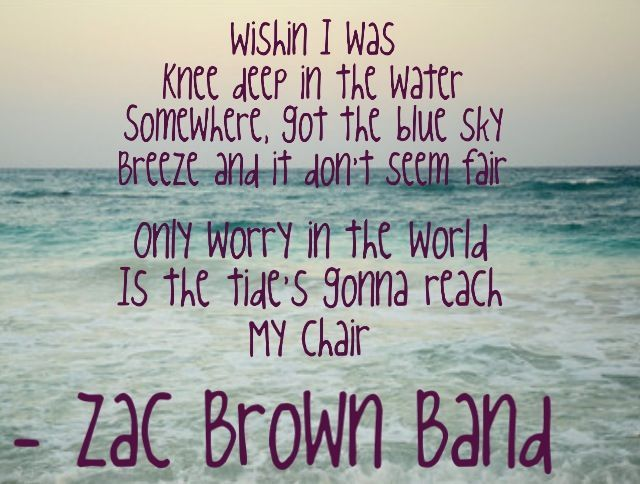 Zac Brown Band Lyrics T
