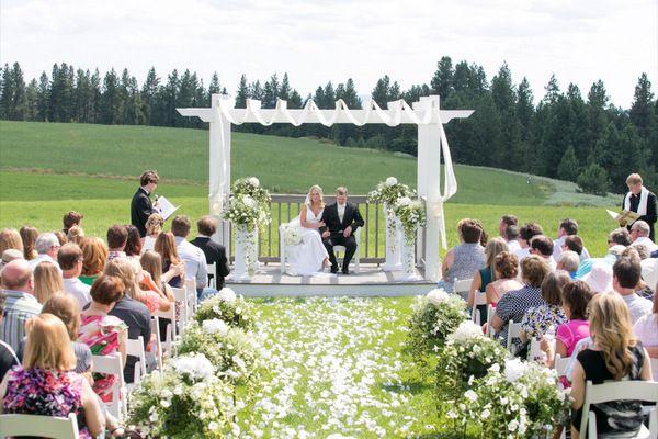 Spokane Wedding Location High Country Orchard Spokane Weddings Hunting Wedding Wedding