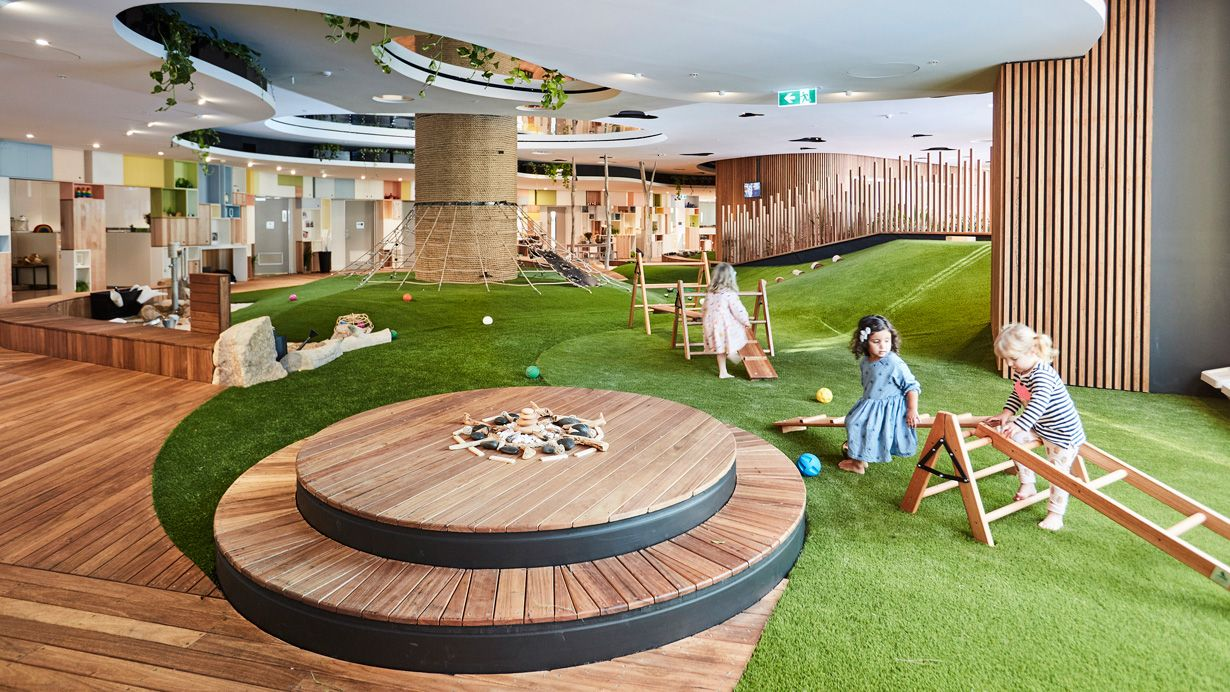 Pin by zhang on indoor Daycare design, Indoor play areas