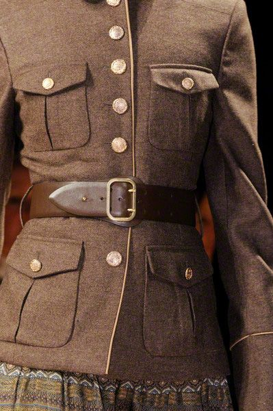 Trend Report Fall/Winter 2012/2013: Military Inspired | Team Peter Stigter, catwalk show, streetwear and fashion photography