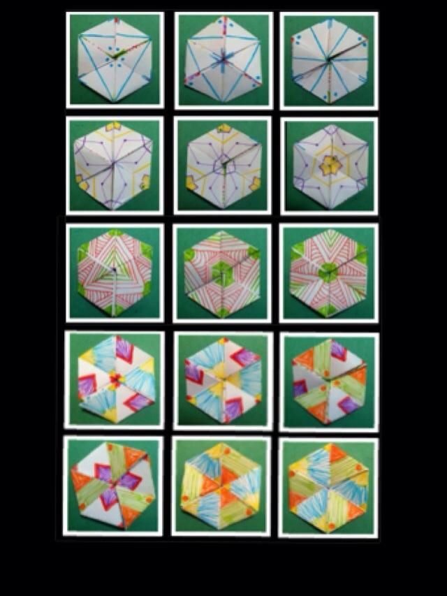How To Make Your Own Hexa HexaflexagonPaper Kaleidoscope  Recipe
