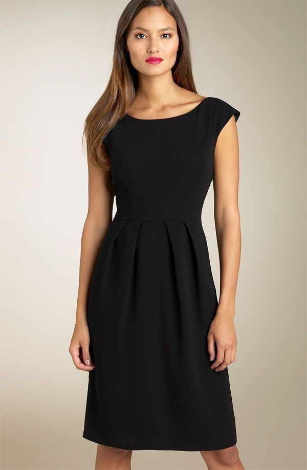 Classic Little Black Dress With Sleeves | # ALL IN FASHION (what's ...