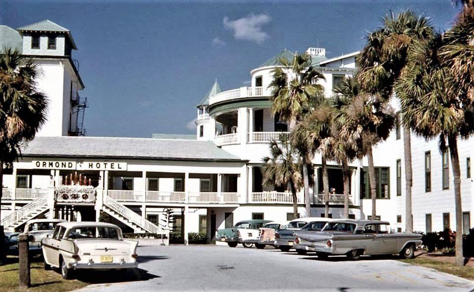 Ormond Hotel Beach Florida 1961
