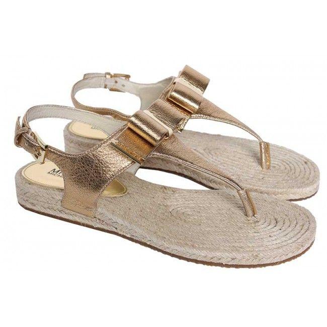 f9ac60106c1 Michael Kors - Sandalen - goud | Michael Kors schoenen collectie ...