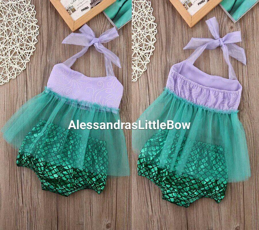 1488f278bfb1 mermaid outfitmermaid outfit baby girl first birthday mermaid theme mermaid  romper sunsuit 2 piece little mermaid outfit tutu swing top purple toddler  girls ...