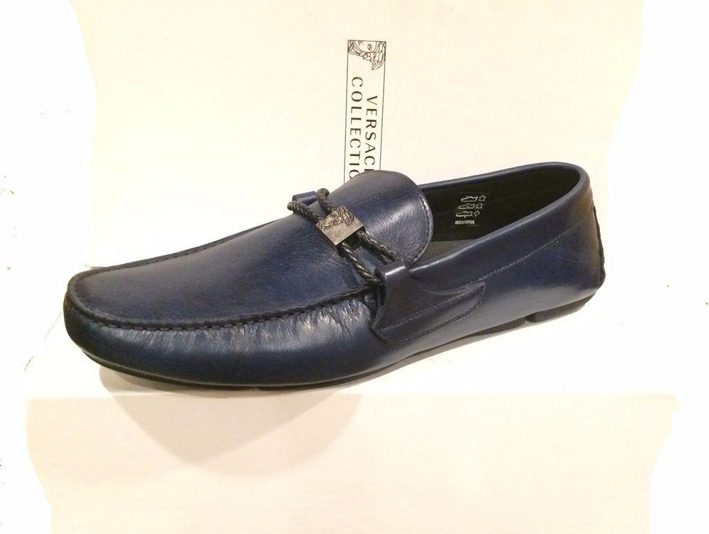 Versace CollectionMoccasins - blue pAiz7m