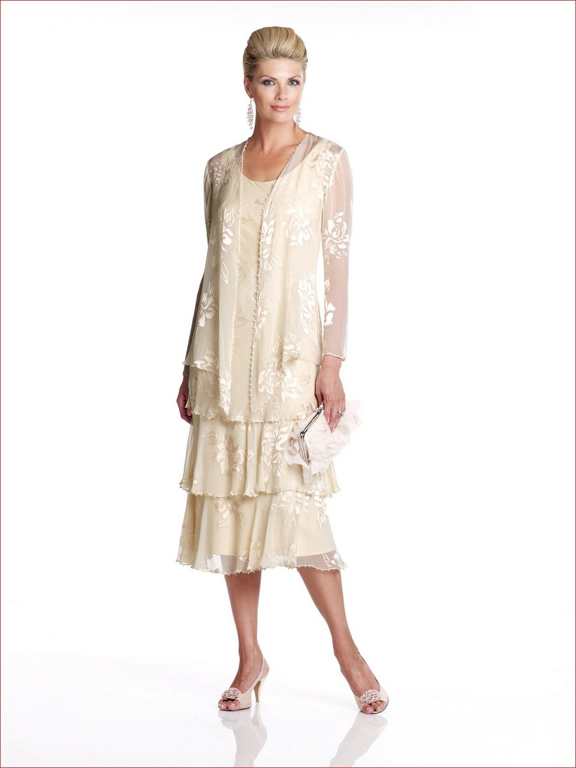 Dresses for Mother Of the Bride Outdoor Wedding  Dress for Country