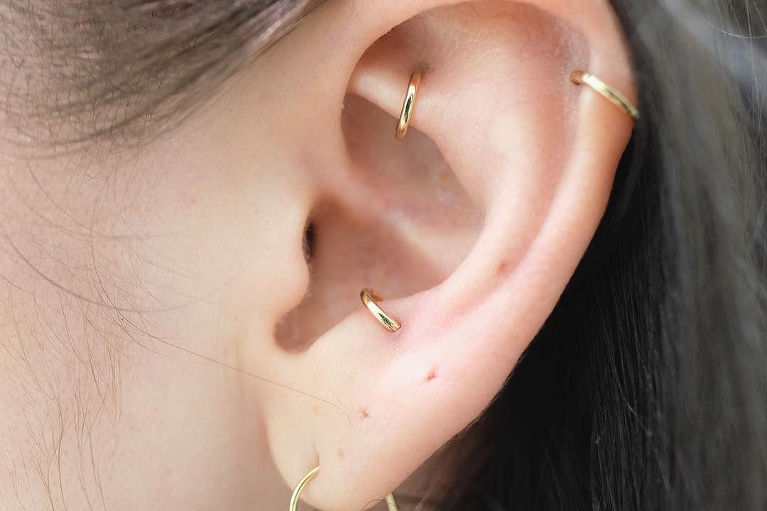18 Ideen, für alle die über ein weiteres Ohrenpiercing ...