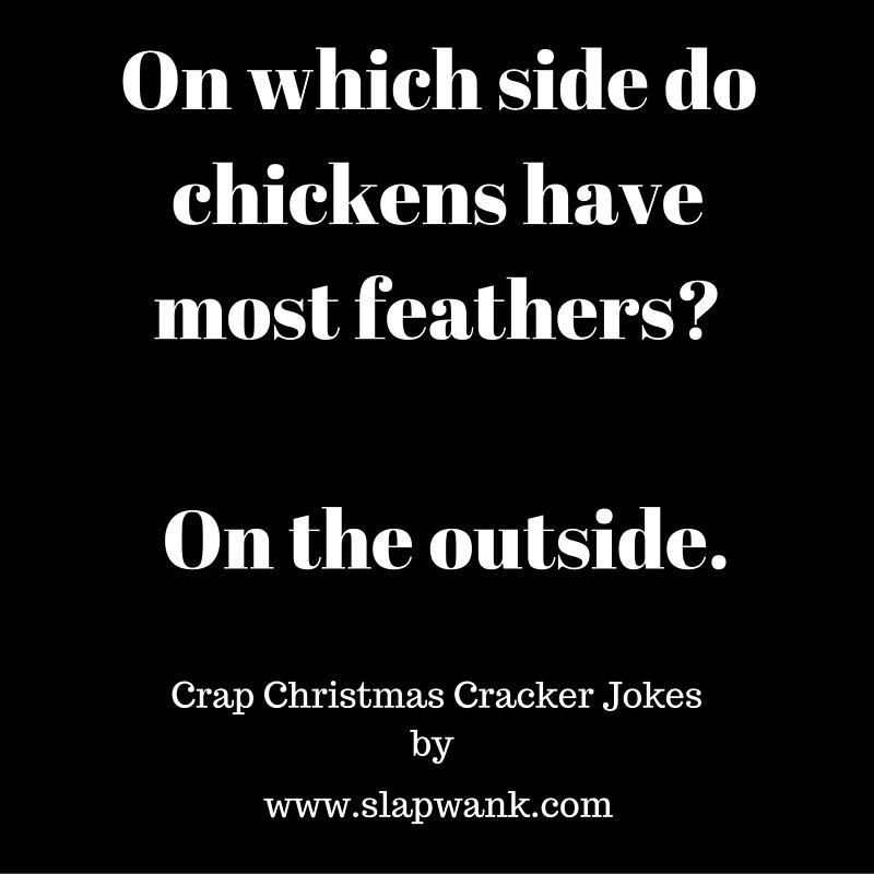 Crap Christmas Cracker Jokes