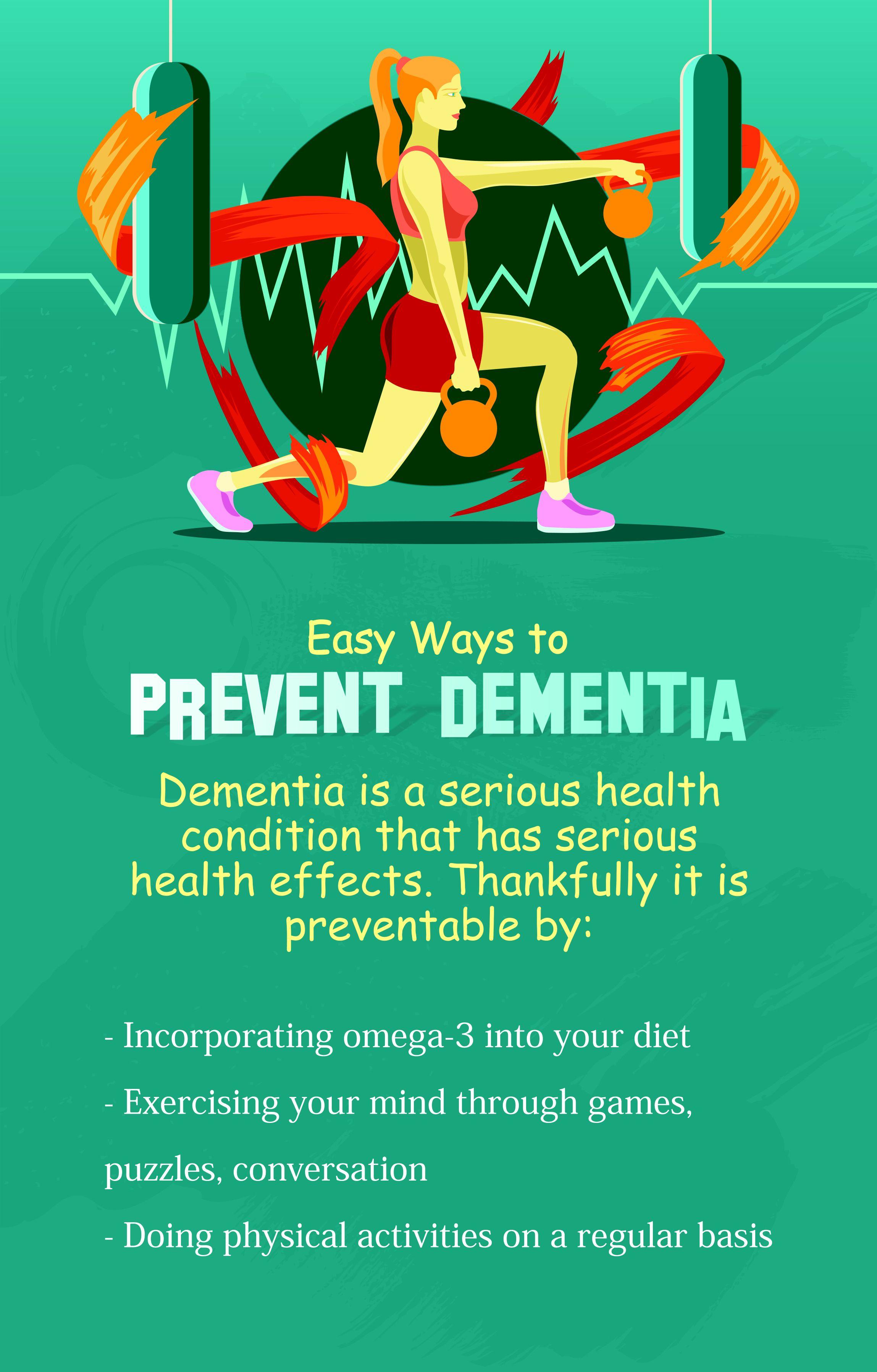 Easy ways to prevent dementia prevention dementia