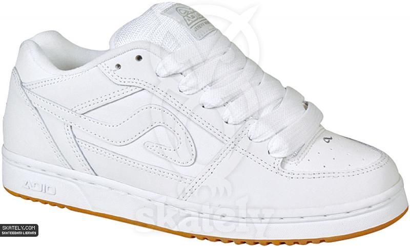 7e5f444b8c19 Adio Shoes - Wray V4 - White Grey. I had a pair of these shoes back in  middle school. Probably one of my favorites pairs of shoes I ve owned.