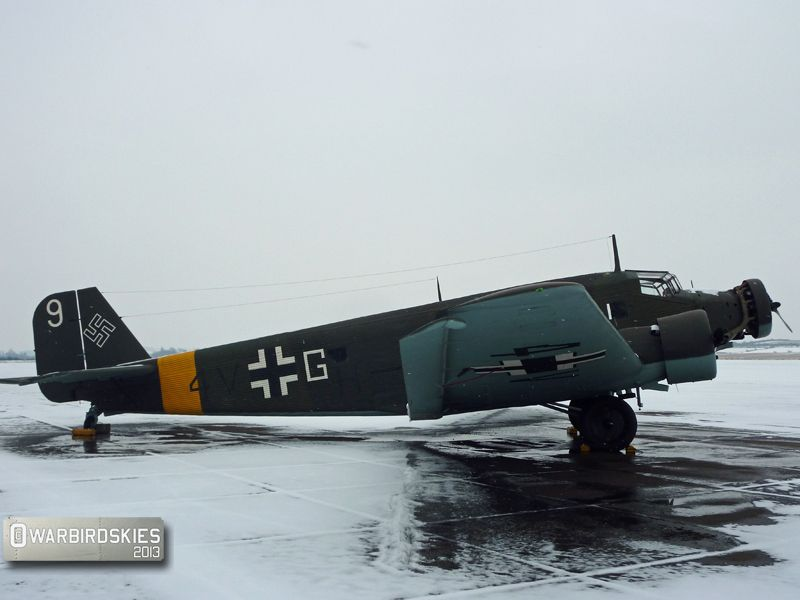 JUNKER 52 , in great condition