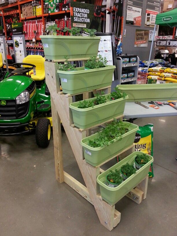 Home depot gardening projects