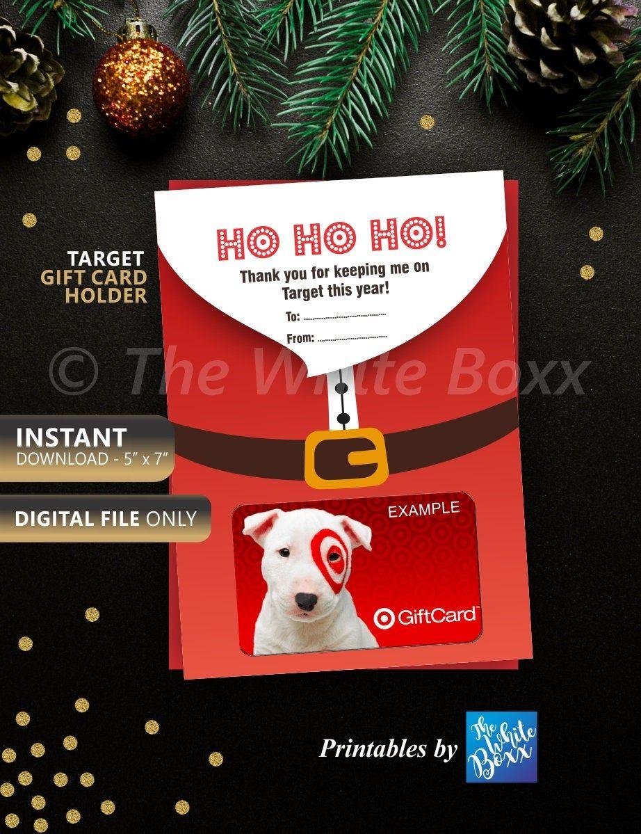 Christmas Gift Card Holder, Target Gift Card Holder ...