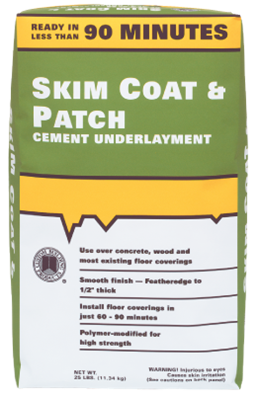 Skim Coat Amp Patch Cement Underlayment Custom Building Products Installing Vinyl Plank