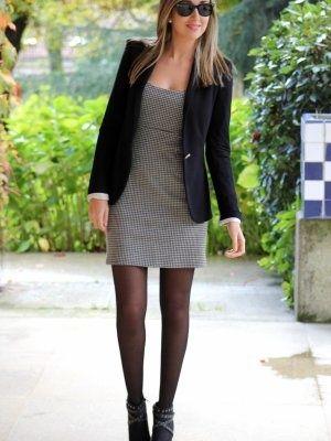 Vestido Gris Zara 2013 Buscar Con Google Classic Womens