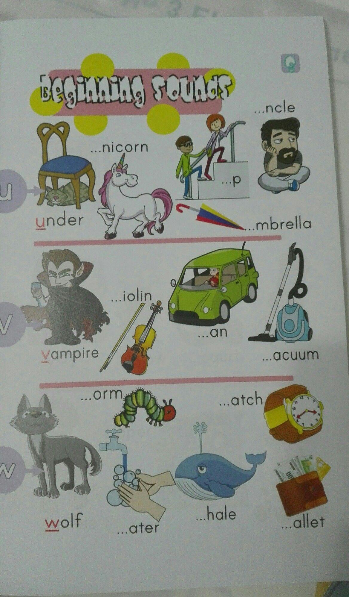 Beginning Sounds Worksheets For Kindergarten And