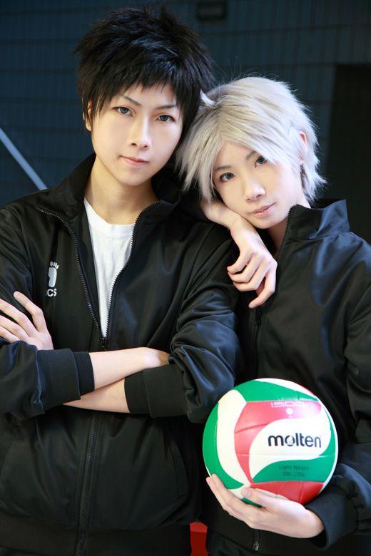 umiya96(海弥黒) Daichi Sawamura, Yoru Tsukiryu(月流夜) Koshi Sugawara Cosplay Photo - Cure WorldCosplay
