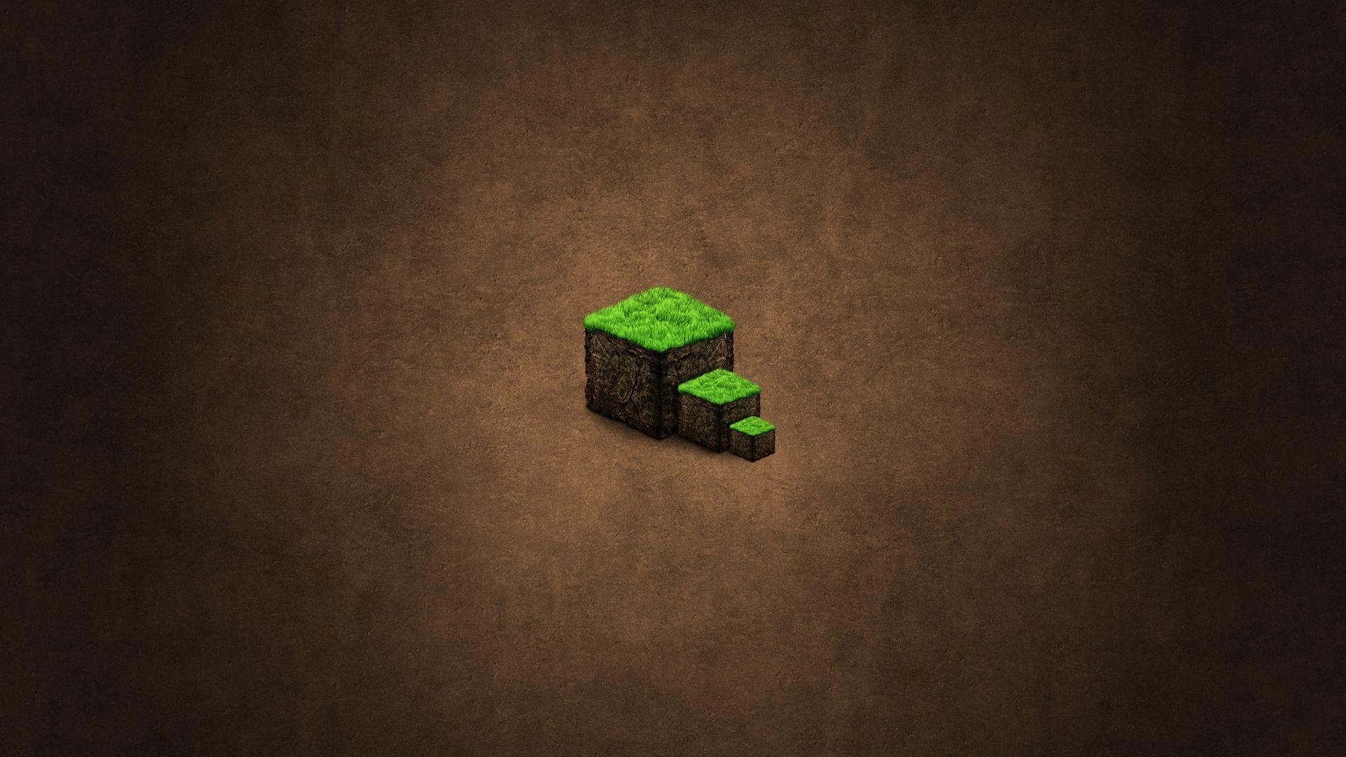 Beautiful Minecraft Ground Background Cube Wallpaper Kuff Games