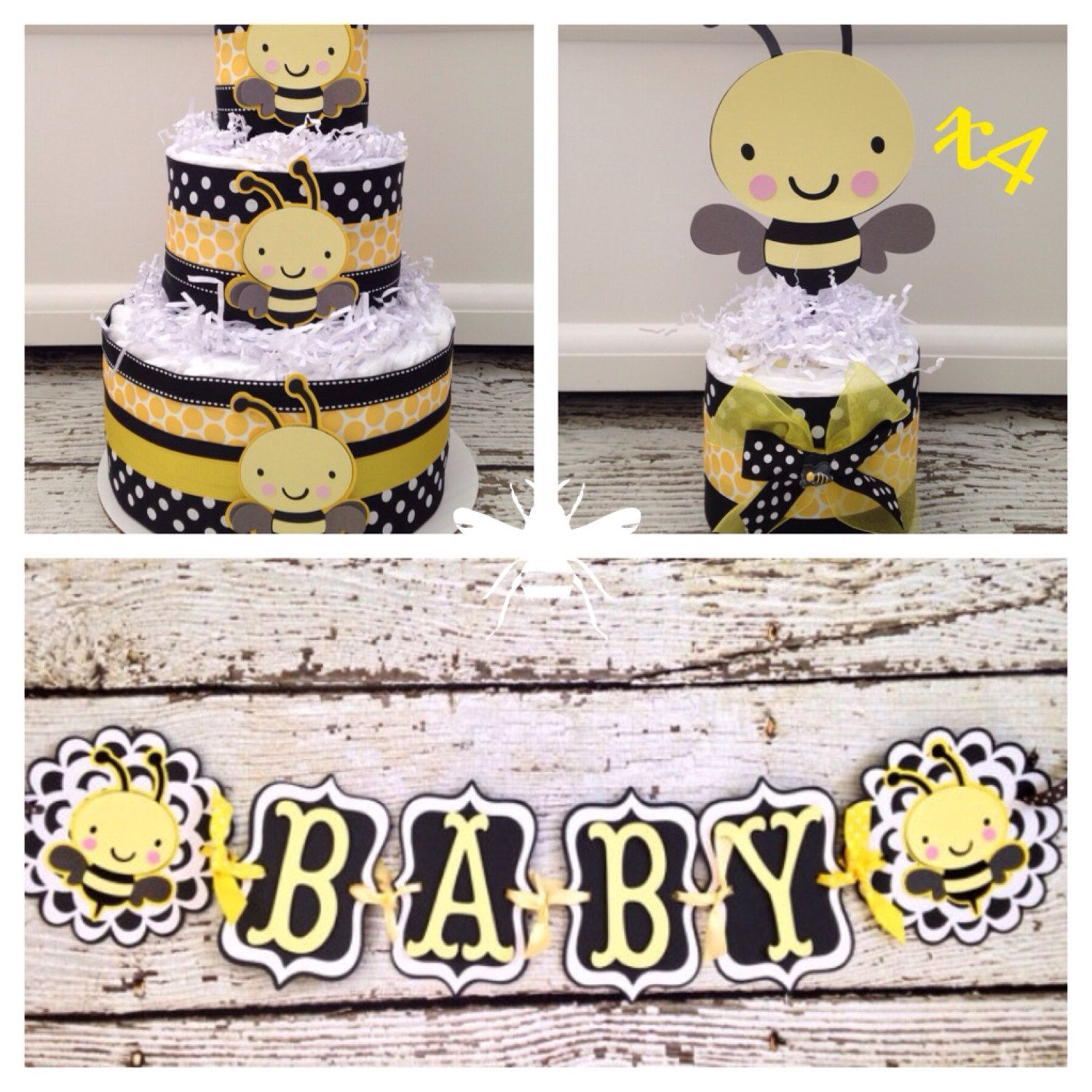 Bumble Bee Baby Shower In A Box Complete Theme Decorations Centerpiece Banner