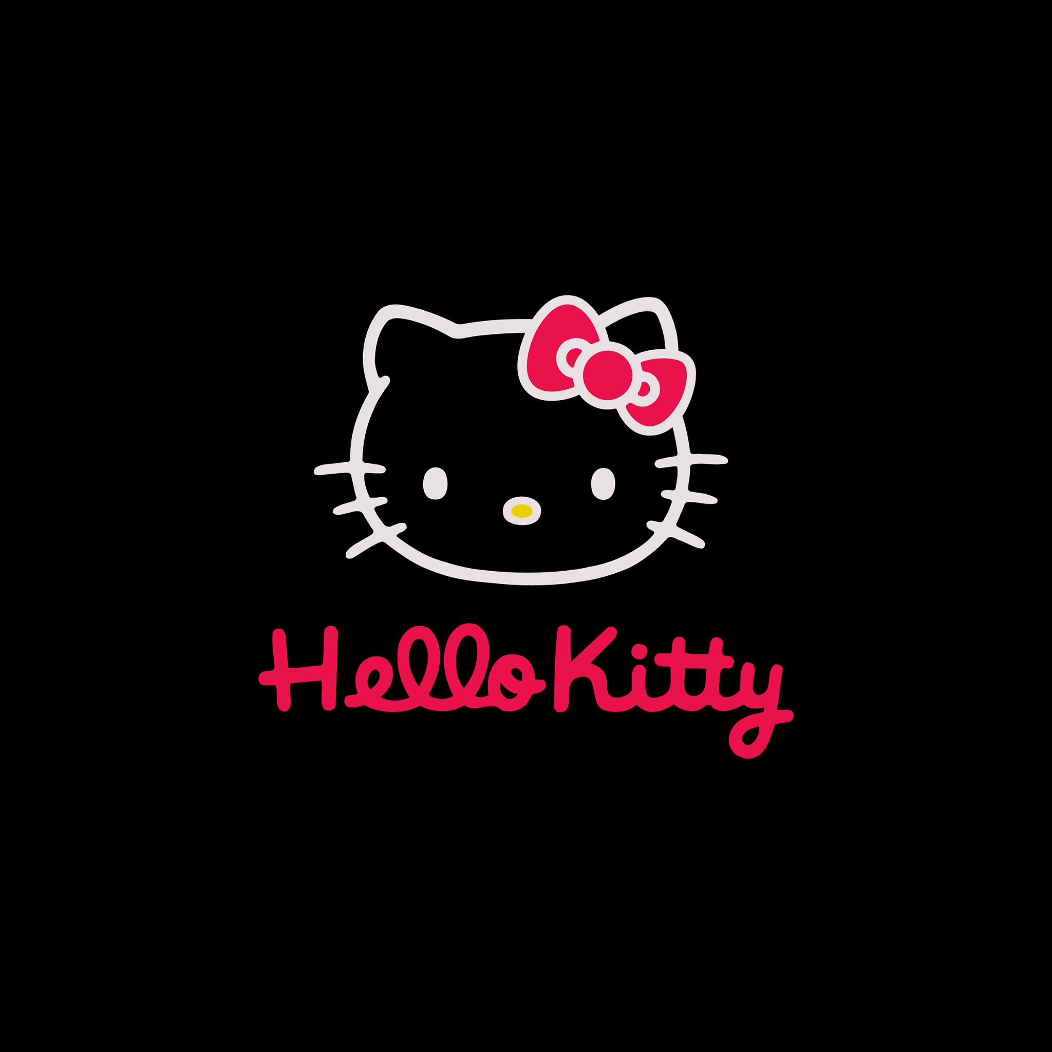 Hello Kitty Dark - Tap to see more cute hello kitty wallpapers! - @mobile9