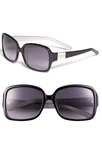 eabcdd340bf Kate Spade new york  lulu  oversized rectangular sunglasses ...