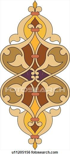 Clip Art of Orange brown curvy design u11205156 - Search Clipart, Illustration Posters, Drawings, and EPS Vector Graphics Images - u11205156.eps