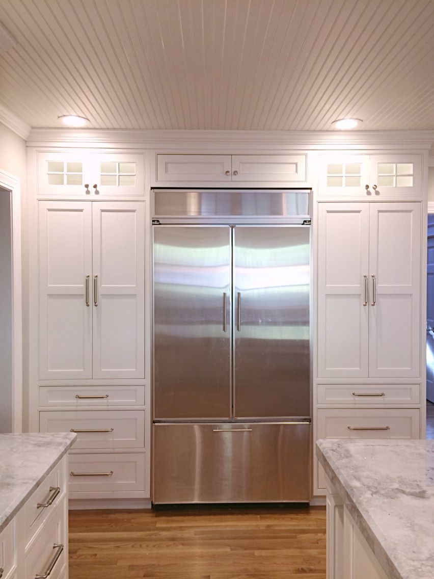 Best Our Finished Kitchen Reno White Custom Beaded Inset 640 x 480