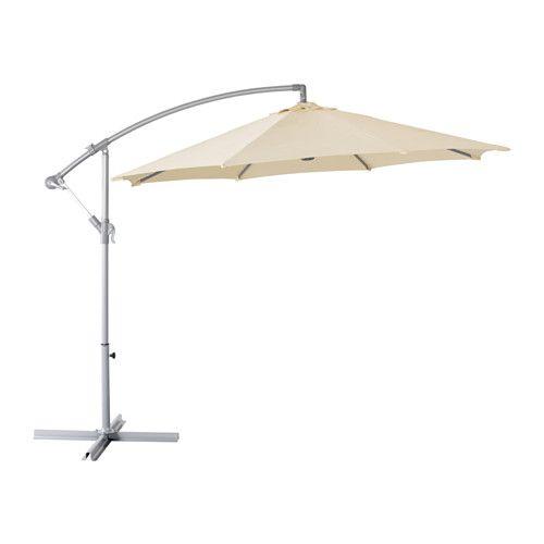KARLSÖ Parasol, vrijhangend Beige 300 cm   Tuin   Pinterest