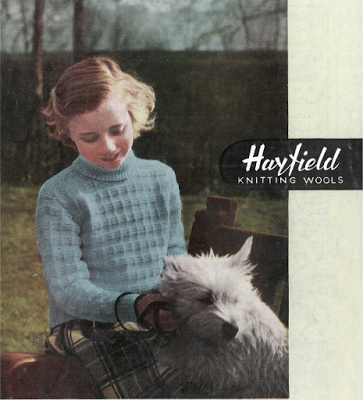 The Vintage Pattern Files: Free 1940\'s Knitting Pattern - Hayfield ...